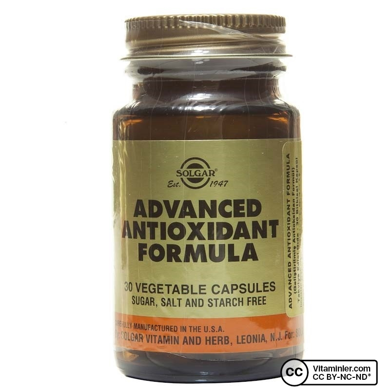 Solgar Advanced Antioxidant Formula 30 Tablet