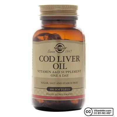 Solgar Cod Liver Oil 100 Softjel