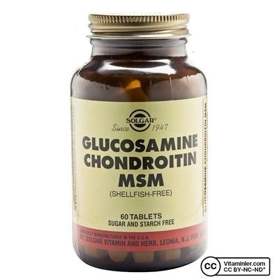 Solgar Glucosamine Chondroitin MSM 60 Tablet