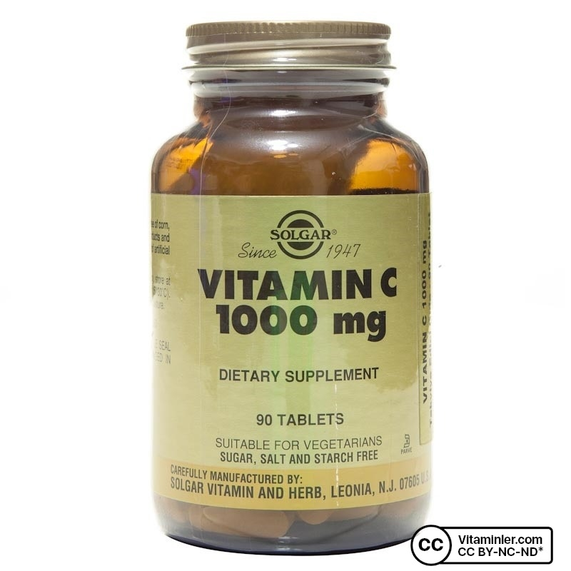 Solgar Vitamin C 1000 mg 90 Tablet