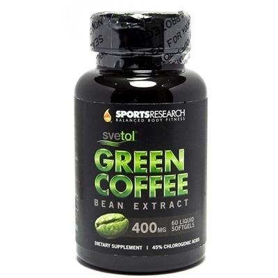 Sports Research Green Coffee Bean Extract 400Mg 60 Sıvı Kapsül