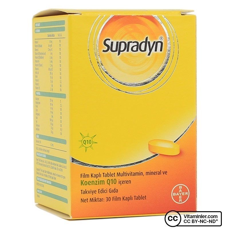 Supradyn All Day 30 Tablet