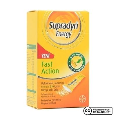 Supradyn Energy 10 Saşe