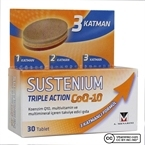 Sustenium Triple Action CoQ-10 30 Tablet