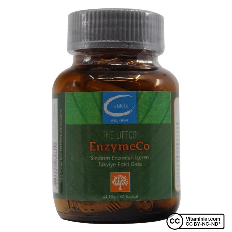 The Lifeco Enzymeco 60 Kapsül