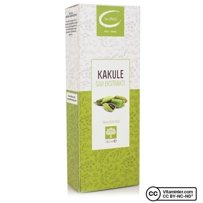 The LifeCo Kakule Sıvı Ekstraktı 150 Ml