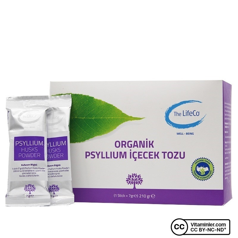The LifeCo Psyllium Husks Powder 30 Saşe
