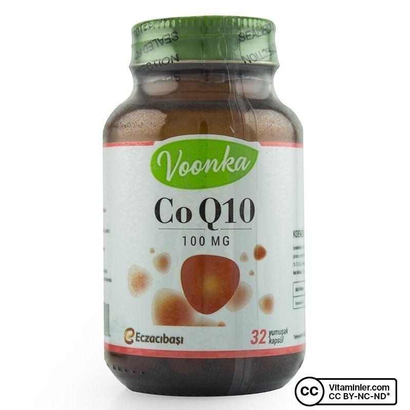 Voonka CoQ10 100 mg 32 Kapsül