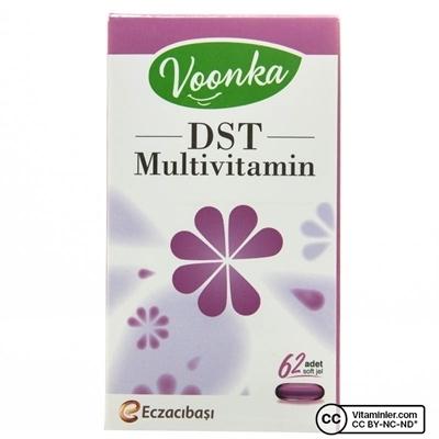 Voonka DST Multivitamin 62 Kapsül