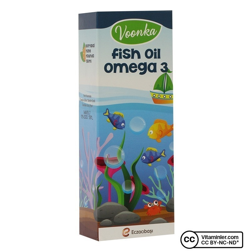 Voonka Fish Oil Omega 3 150 mL