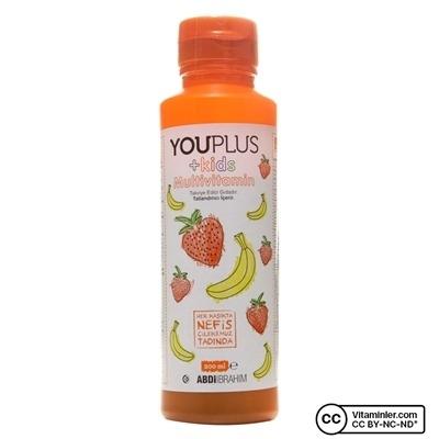 YouPlus +Kids Multivitamin 200 ml