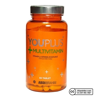 YouPlus Multivitamin 60 Tablet