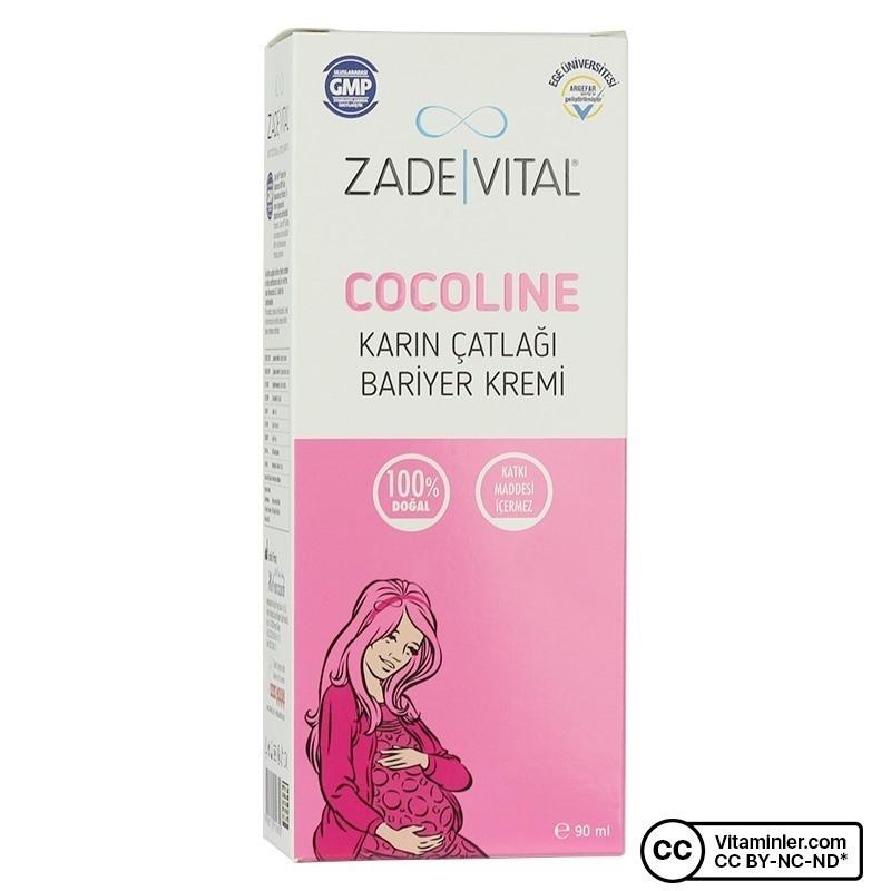 Zade Vital Cocoline Karın Çatlağı Kremi 90 ML