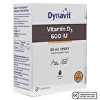 Dynavit Vitamin D3 600 IU 20 mL Sprey