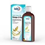 Eurho Vital Cod Liver Oil Omega-3 Plus Balık Yağı 200 mL