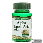 Nature's Bounty Alpha Lipoic Acid 100 Mg 60 Kapsül