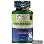 Nature's Supreme Glucosamine Chondroitin MSM + Hyaluronic Acid 120 Tablet