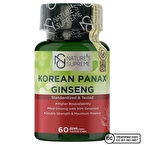 Nature's Supreme Korean Panax Ginseng 60 Kapsül