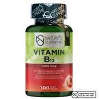 Nature's Supreme Vitamin B12 1000 Mcg 100 Kapsül