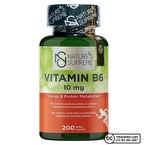 Nature's Supreme Vitamin B6 10 Mg 200 Kapsül