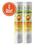 Nature's Supreme Vitamin C + Zinc 20 Efervesan Tablet 2 Adet