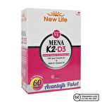 New Life Mena Vitamin K2 + D3 60 Kapsül