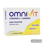 Omnivit C Vitamini Ginseng 24 Tablet