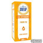 One Up D3 Vitamini 1000 IU 20 mL Damla