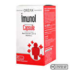 Orzax Imunol Beta Glukan 40 Kapsül