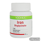 Voonka Iron Bisglycinate (Demir) 92 Tablet