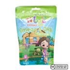 Voonka Kids Niloya Gummies Omega 3 DHA 60 Çiğnenebilir Form