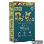 Zade Vital D3 + K2 Vitamini 30 Kapsül