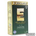 Zade Vital E Vitamini 268 Mg 30 Kapsül