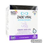 Zade Vital Üzüm Çekirdeği Yağı 400 Mg 25 Patlatılabilen Kapsül
