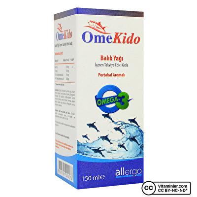 Allergo OmeKido Omega 3 Balık Yağı 150 mL