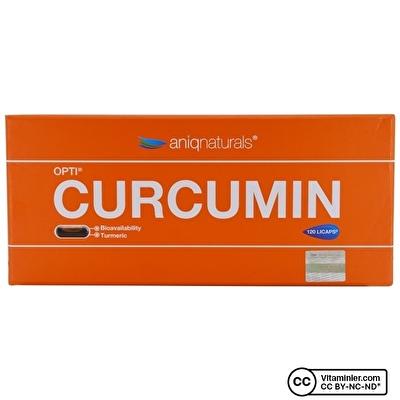 Aniqnaturals Opti Curcumin 120 Kapsül