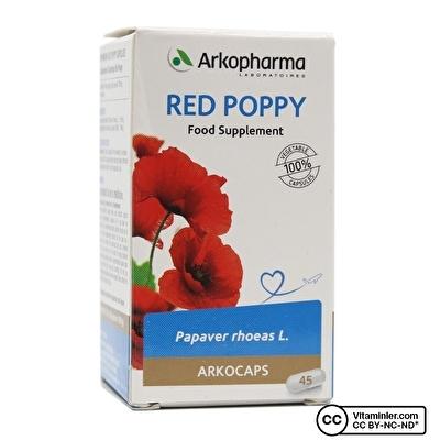 Arkopharma Red Poppy 291 Mg 45 Kapsül