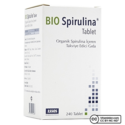 Assos Bio Spirulina 240 Tablet