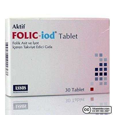 Assos Folic Iod 30 Tablet