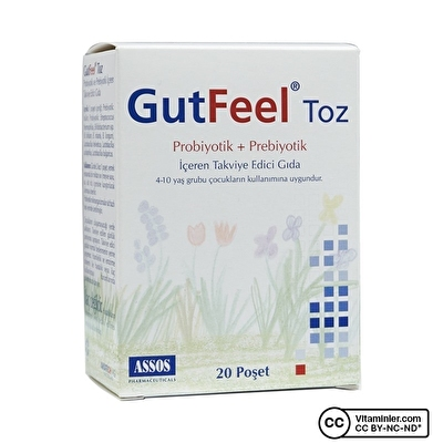 Assos Gut Feel Probiyotik Prebiyotik 20 Saşe