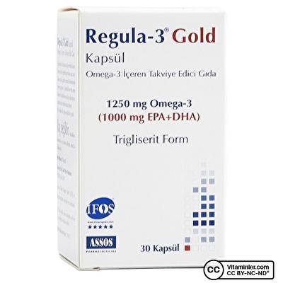 Assos Regula-3 Gold Omega-3 1250 mg 30 Kapsül