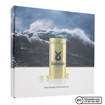 BallstadOmega-3 1050 Mg Metal Kutulu 93 Kapsül