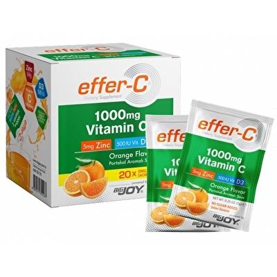 Bigjoy Effer-C 1000 Mg C Vitamini 20 Saşe