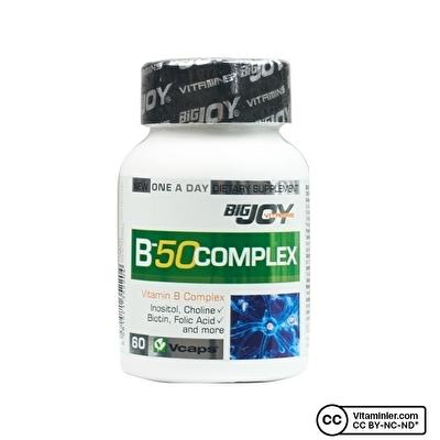 Bigjoy Vitamins B 50 Complex 60 Kapsül
