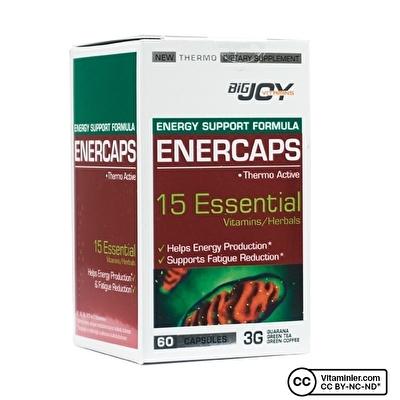 Bigjoy Vitamins Enercaps 60 Kapsül