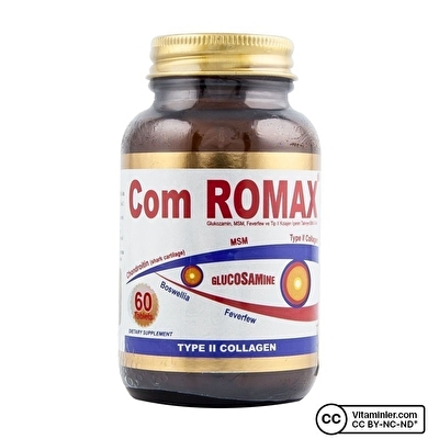 Com Romax Glucosamine Chondroitin MSM 60 Tablet