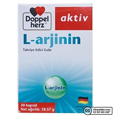 Doppelherz Aktiv L-arjinin 30 Kapsül