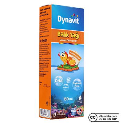 Dynavit Balık Yağı Şurubu 150 mL
