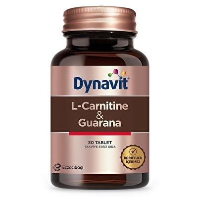 Dynavit L-Carnitine + Guarana 30 Tablet