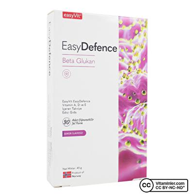 EasyVit Easy Defence Beta Glukan 30 Çiğnenebilir Form